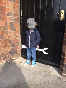 Lil G's last day at Nursery