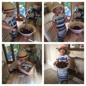 Baking 9 June