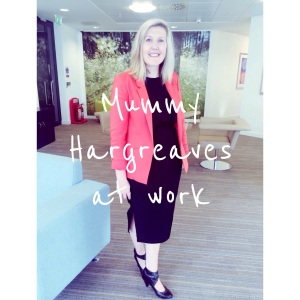 mummy hargreaves at work