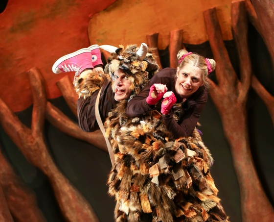 TOM CROOK _ The Gruffalo SUSANNA JENNINGS - the Mouse (Crewe Lyceum Giveaway)