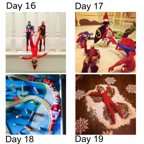 Days 16-19