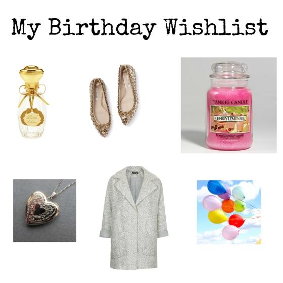 My Birthday Wishlist Image