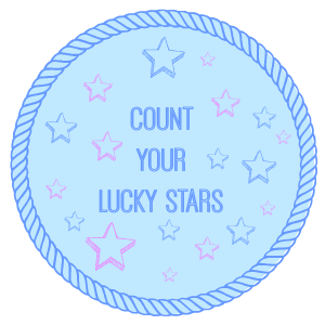 count your lucky stars button (1)