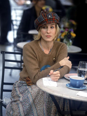 Carrie Bradshaw casual
